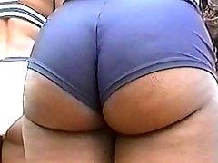 Wild ebony whore get crazy sex