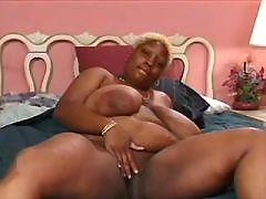 Ebony slut fucked hard