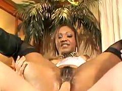 Wild ebony in hard sex porn