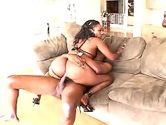 Ebony chubby vixen in porn videos