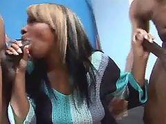 Black vixen fucked in ebony porn movies