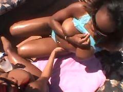 Ebony chubby honey fucking hard with dude in ebony XXX videos
