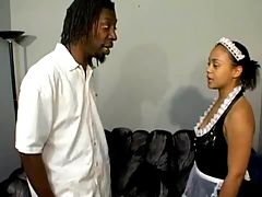 Ebony honey fucking hard in free xxx video